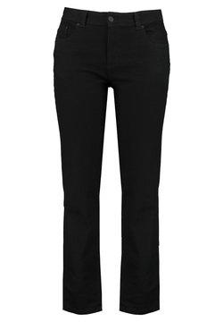 MS Mode - ROSE - Straight leg jeans - black