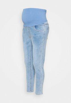 Cotton On - MATERNITY CROPPED - Vaqueros pitillo - venice blue