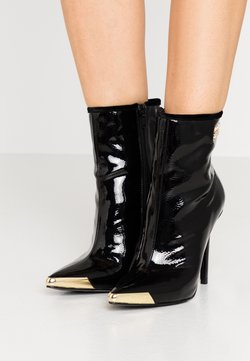 Versace Jeans Couture - HIGHT TOP STILETTO  - High Heel Stiefelette - nero