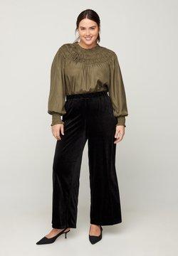 Zizzi - Pantalon classique - black