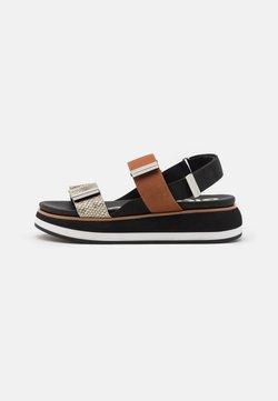 Gioseppo - Korkeakorkoiset sandaalit - black