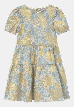 Chi Chi Girls - SHORT SLEEVE FLORAL MIDI DRESS - Cocktailkleid/festliches Kleid - multi-coloured
