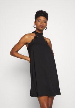Vero Moda - VMLOVELY HALTERNECK SHORT DRESS - Cocktail dress / Party dress - black