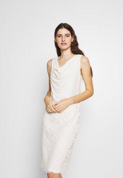 Lauren Ralph Lauren - ISABELLA LACE DRESS COMBO - Cocktailkjoler / festkjoler - matte ivory
