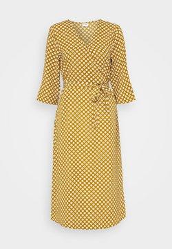 JDY - JDYLION WRAP DRESS - Kjole - golden brown