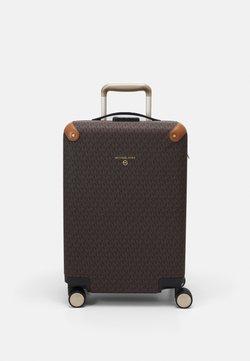 MICHAEL Michael Kors - TRAVEL HARDCASE TROLLEY - Trolley - brown/acorn
