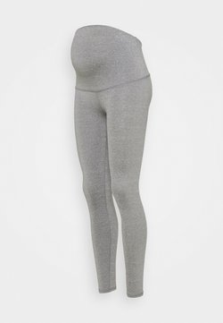 Cotton On Body - MATERNITY CORE OVER BELLY - Tights - mid grey