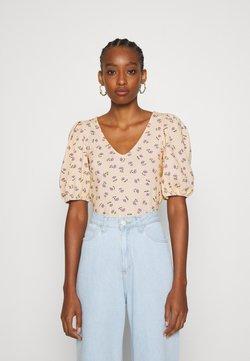 Monki - MALENA - T-shirt basic - yellow