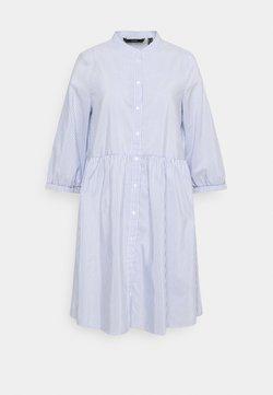 Vero Moda Tall - VMSISI DRESS - Blusenkleid - snow white/cashmere blue