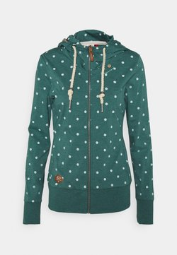 Ragwear - PAYA DOTS - Strickjacke - dark green