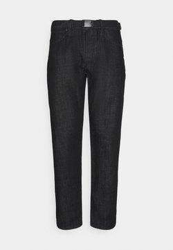 Denham - CROP TRAVEL - Relaxed fit jeans - black