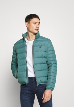 Calvin Klein Jeans - LIGHT JACKET - Daunenjacke - vapor green