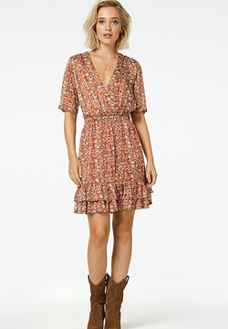 Freebird - Korte jurk - orangehet