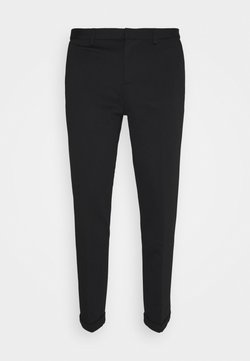 TOM TAILOR DENIM - CROPPED - Chinot - black