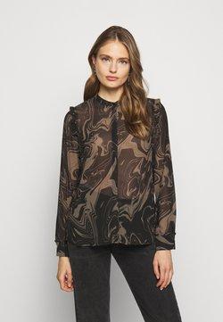 Bruuns Bazaar - MARBELL EGLAS BLOUSE - Blouse - brown