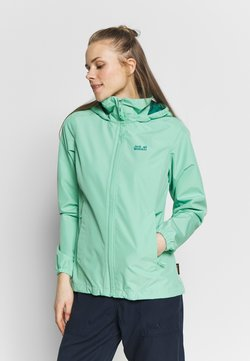 Jack Wolfskin - STORMY POINT JACKET  - Outdoorjacke - pacific green
