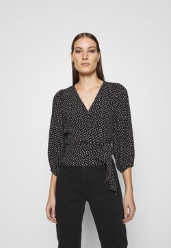 Abercrombie & Fitch - CHASE BLOUSE - Bluse - black