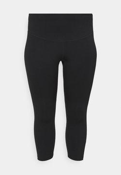 Nike Performance - ONE PLUS - Tights - black/white