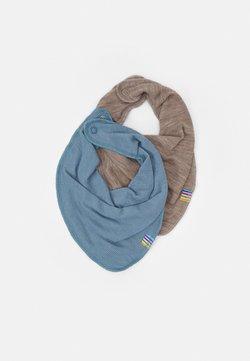 Joha - SCARF 2 PACK - Schal - light blue/mottled light brown