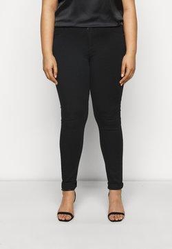 ONLY Carmakoma - CARSTORM - Jeans Skinny Fit - black denim