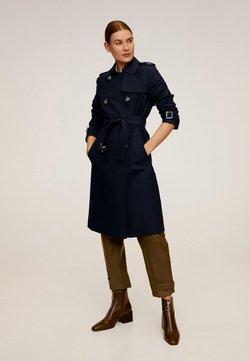 Mango - POLANA - Trenchcoat - dark navy blue