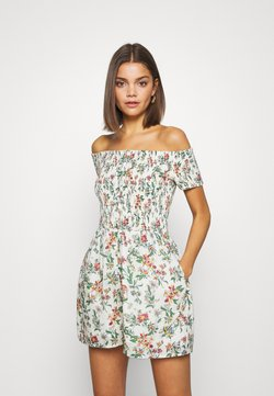 Tommy Jeans - SUMMER PRINTED PLAYSUIT - Combinaison - multi-coloured