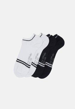 Marc O'Polo - SNEAKER 4 PACK - Socken - black/white
