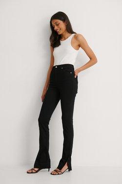 NA-KD - Jean slim - black