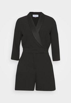 Closet - CLOSET TUXEDO PLAYSUIT - Combinaison - black