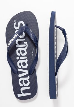 Havaianas - TOP LOGOMANIA UNISEX - Teenslippers - navy blue