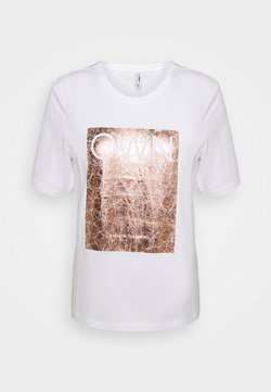 ONLY - ONLIVY - T-Shirt print - bright white