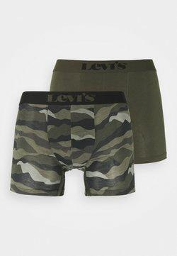 Levi's® - MEN CALM CAMOUFLAGE BOXER BRIEF 2 PACK - Culotte - khaki