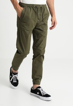 Jack & Jones - JJIVEGA JJLANE  - Jogginghose - olive night