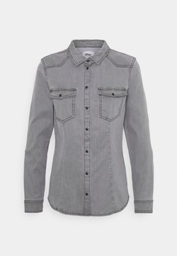 ONLY - ONLROCKIT LIFE - Camicia - grey denim