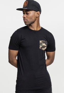 Urban Classics - T-Shirt print - black/grey