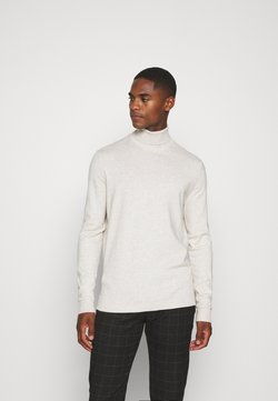 Esprit Collection - COWS ROLL - Trui - light beige