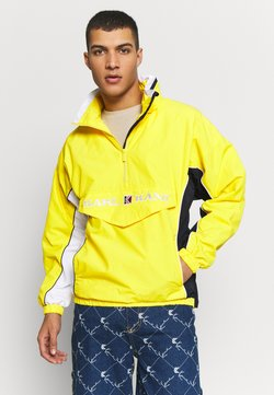 Karl Kani - RETRO BLOCK - Windbreaker - yellow/white/navy