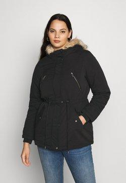 Vero Moda Curve - VMAGNESBEATE - Abrigo de invierno - black