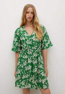 Mango - Robe d'été - groen