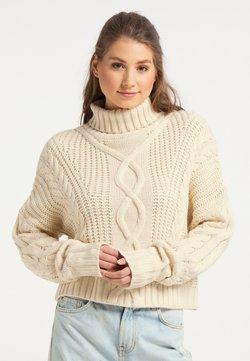 IZIA - Strickpullover - beige