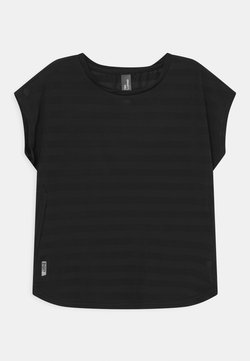 ONLY Play - ONPANUR LOOSE SLIT TRAIN TEE  - T-shirt con stampa - black