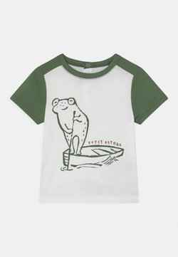 Petit Bateau - T-Shirt print - marshmallow/vallee