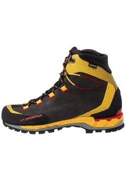 La Sportiva - TRANGO TECH GTX - Hikingschuh - black/yellow