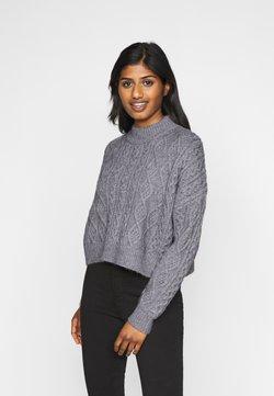 Fashion Union Petite - CABBIE - Trui - grey
