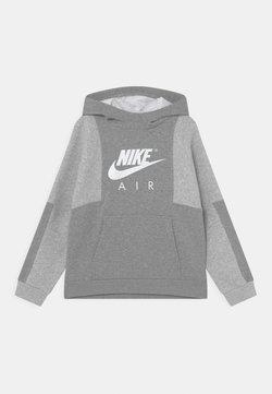 Nike Sportswear - AIR - Sweatshirt - dark grey heather/grey heather/white