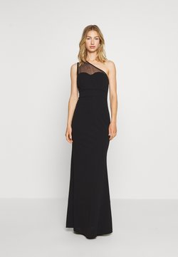 WAL G. - ONE SHOULDER MAXI DRESS - Abito da sera - black
