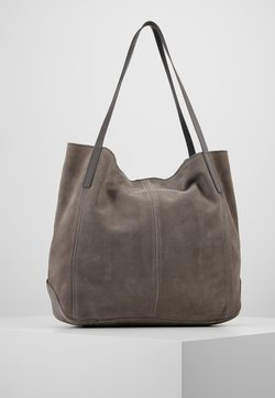 Anna Field - LEATHER - Torba na zakupy - anthracite