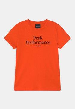 Peak Performance - ORIGINAL UNISEX - T-shirt med print - super nova
