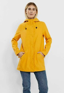 Vero Moda - VMSHADY COATED JACKET PI - Parka - yolk yellow