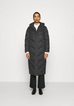 Saint Tropez - CATJA LONG JACKET - Winter coat - black